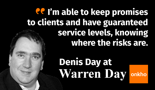 Guaranteeing promises to clients at Warren Day