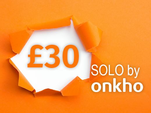 The Solo Plan from £30 per month